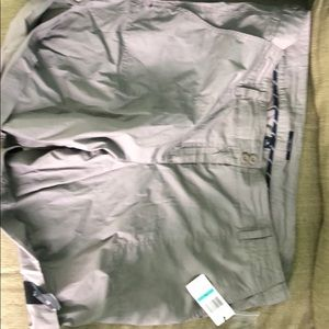New with tags grey Nautica shorts